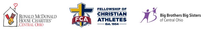 2015 Clark Kellogg Classic RMHC, FCA, BBBS Logo Block